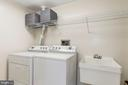 Laundry Room - 5610 WISCONSIN AVE #804, CHEVY CHASE