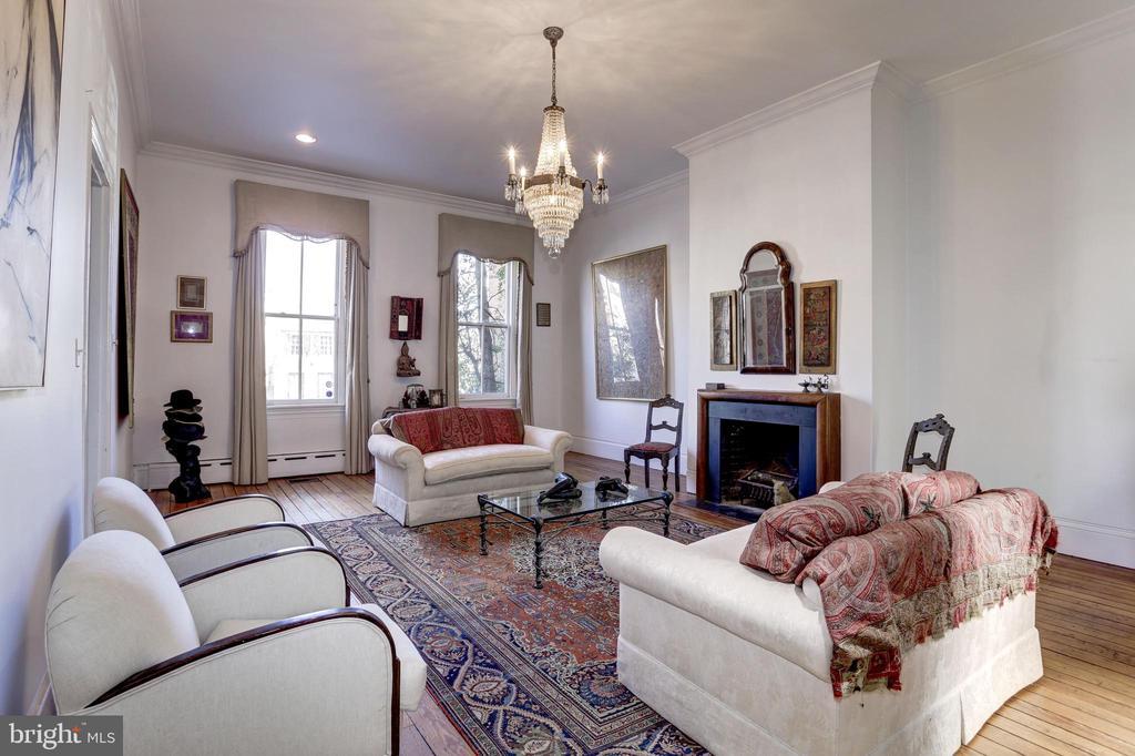 Living Room - 1408 35TH ST NW, WASHINGTON