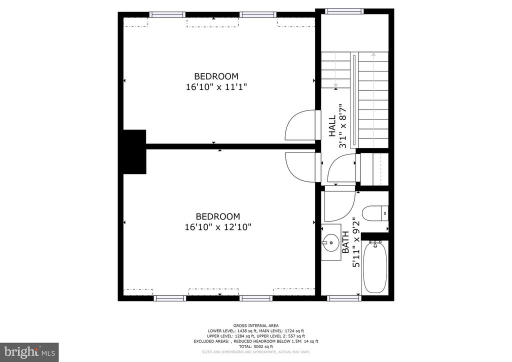 Floorplan - 1408 35TH ST NW, WASHINGTON