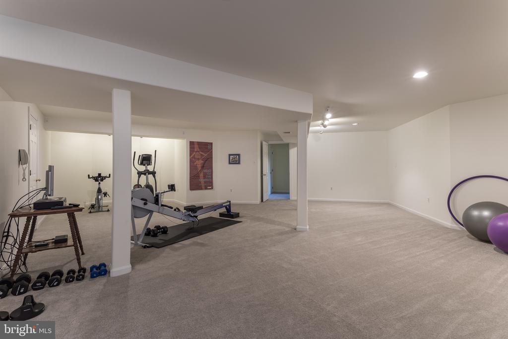 Lower level Exercise area - 4551 SUNSHINE CT, WOODBRIDGE