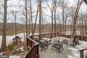 Rear deck water view - 4551 SUNSHINE CT, WOODBRIDGE