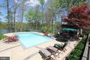 Pool and view of water - 4551 SUNSHINE CT, WOODBRIDGE