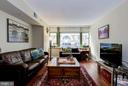 Great natural light thru floor to ceiling windows. - 1150 K ST NW #309, WASHINGTON