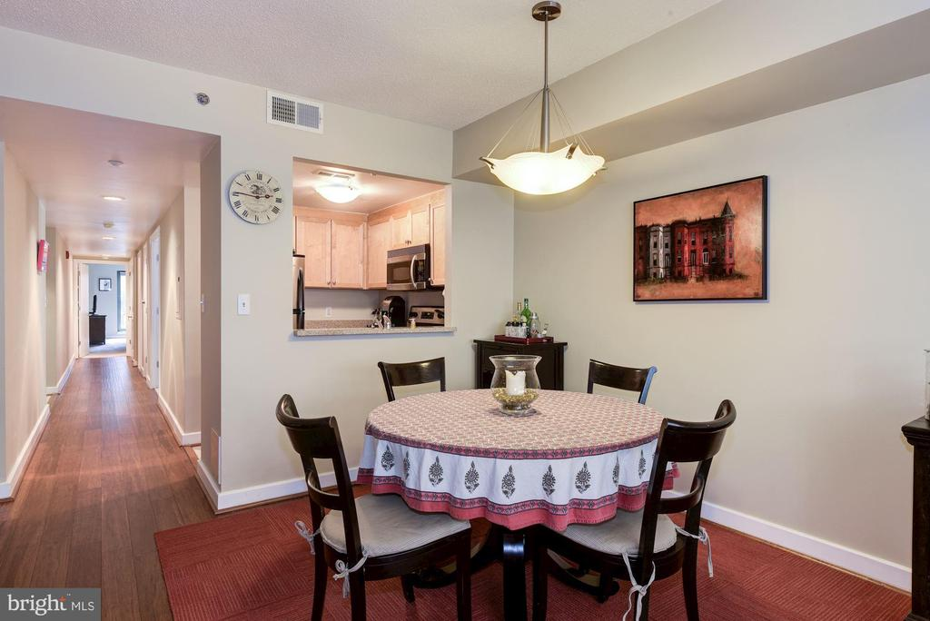 Pass through from kitchen to dining area. - 1150 K ST NW #309, WASHINGTON