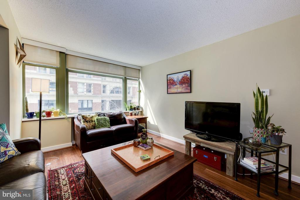 Brand new wood floors throughout. - 1150 K ST NW #309, WASHINGTON