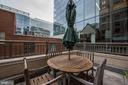 Rare 121 sqft private patio. - 1150 K ST NW #309, WASHINGTON