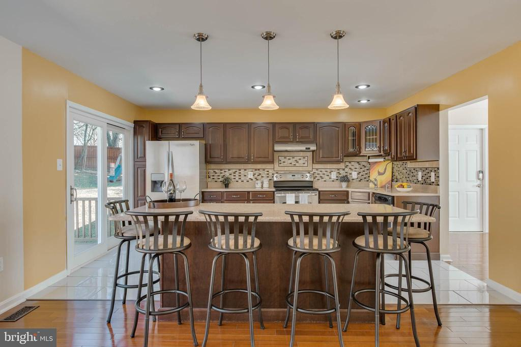 Spacious kitchen for entertaining - 14513 CARONA DR, SILVER SPRING