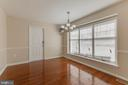 Naturally lit Dining room - 14513 CARONA DR, SILVER SPRING