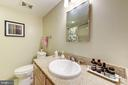 Primary bath with tub. - 1150 K ST NW #309, WASHINGTON