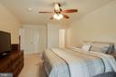 Master Bedroom - 12302 WADSWORTH WAY #12, WOODBRIDGE