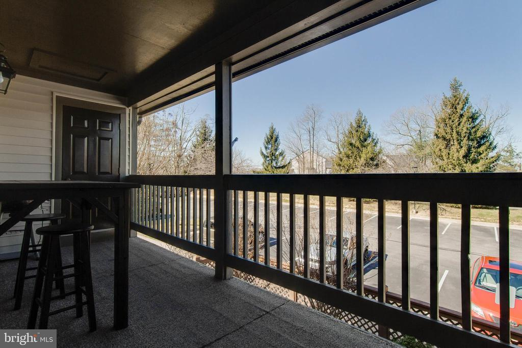Balcony - 12302 WADSWORTH WAY #12, WOODBRIDGE