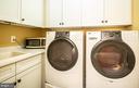 Upstairs laundry. - 21883 KNOB HILL PL, ASHBURN