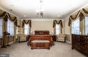 Master bedroom. - 21883 KNOB HILL PL, ASHBURN