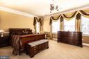 Master bedroom - 21883 KNOB HILL PL, ASHBURN