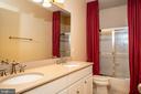 3rd bath upstairs - 21883 KNOB HILL PL, ASHBURN