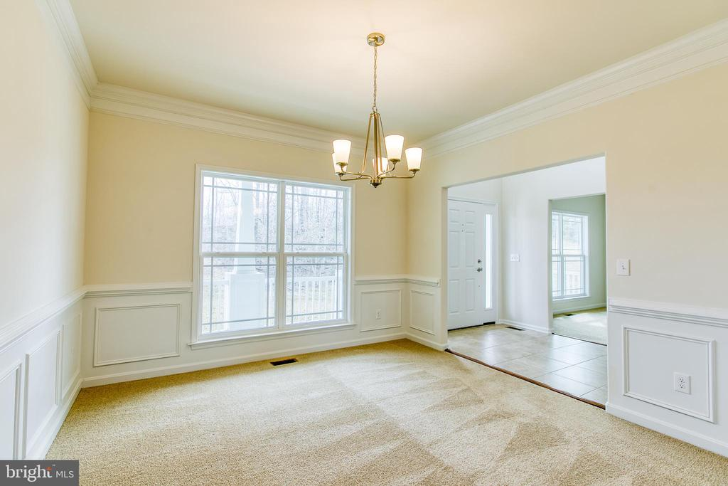 Formal Dining Room - 315 MOUNT HOPE CHURCH RD, STAFFORD