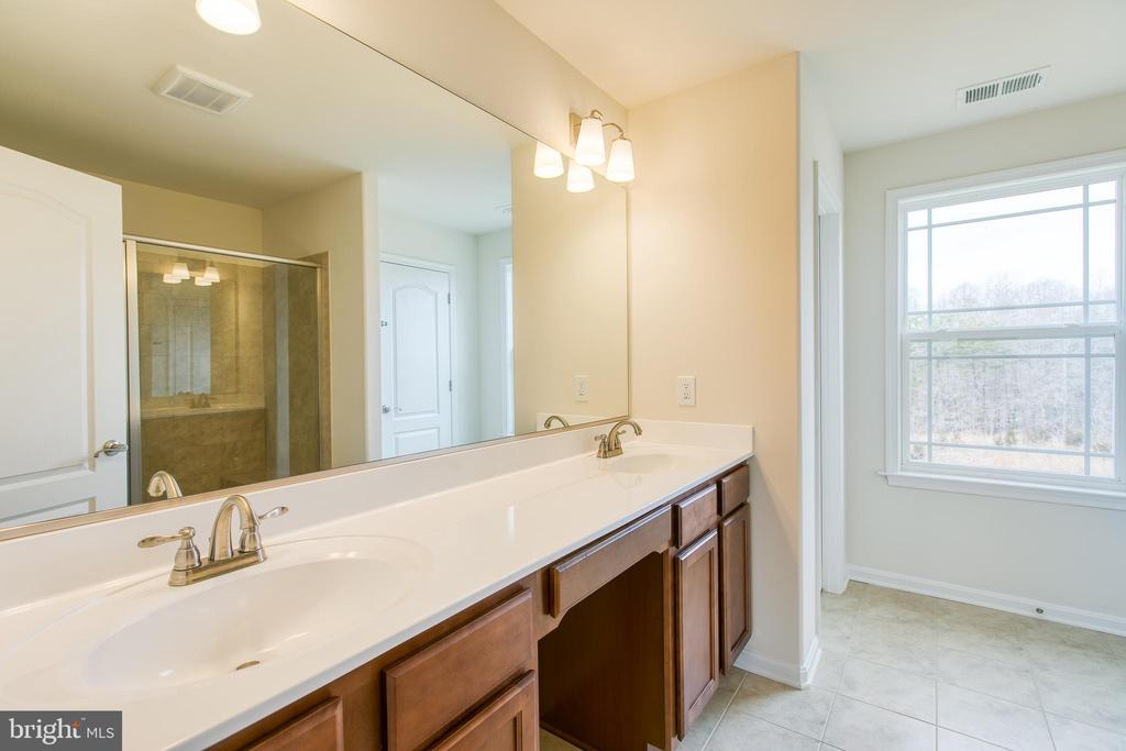 Master bath - 315 MOUNT HOPE CHURCH RD, STAFFORD