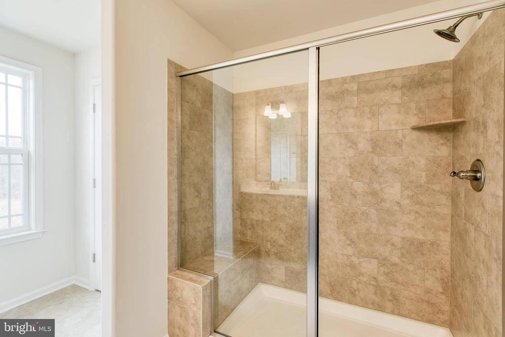 Master bath shower - 315 MOUNT HOPE CHURCH RD, STAFFORD