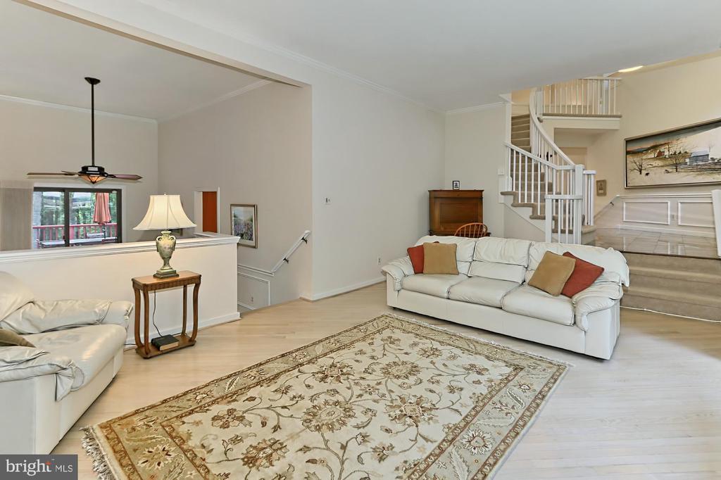 Formal living room - 12709 MILL GLEN CT, CLIFTON
