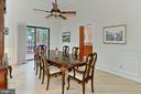 Formal dining room - 12709 MILL GLEN CT, CLIFTON