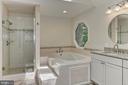 Spa like master bath - 12709 MILL GLEN CT, CLIFTON