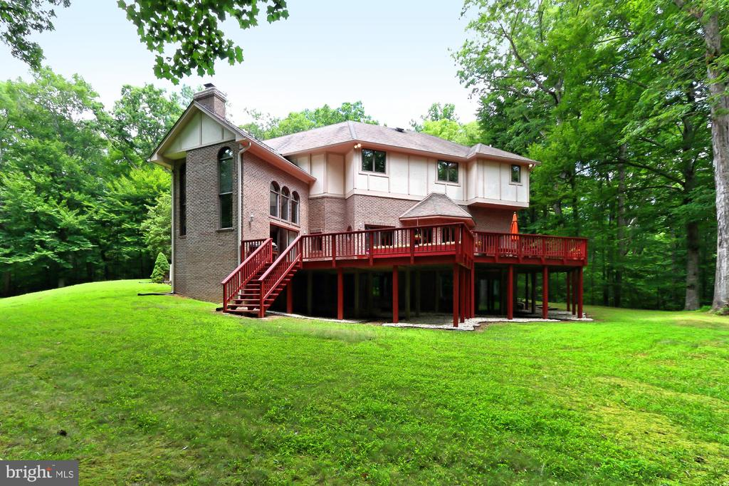 Such a peaceful setting! - 12709 MILL GLEN CT, CLIFTON