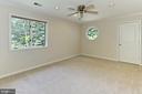 bedroom 3 - 12709 MILL GLEN CT, CLIFTON