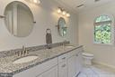 Updated Hall bath - 12709 MILL GLEN CT, CLIFTON