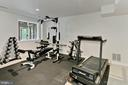 Fitness room - 12709 MILL GLEN CT, CLIFTON
