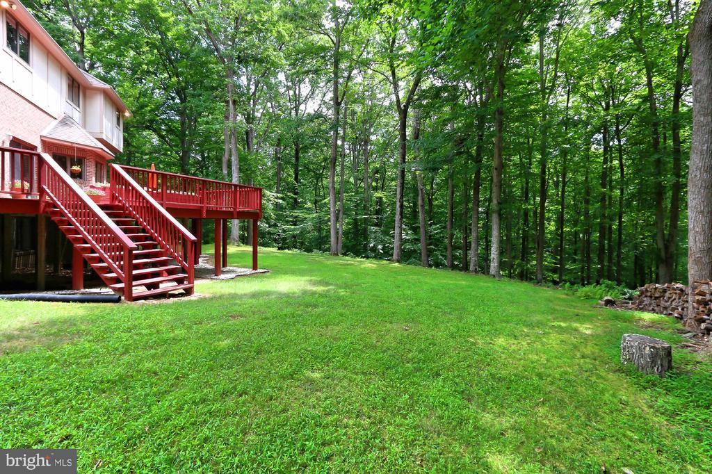 Backyard - 12709 MILL GLEN CT, CLIFTON