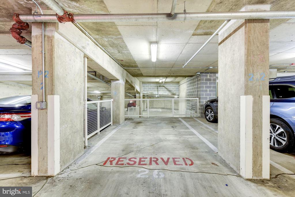 Parking space #26 on P2 conveys with sale. - 1150 K ST NW #309, WASHINGTON