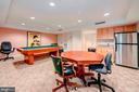 Community room with billiards table. - 1150 K ST NW #309, WASHINGTON