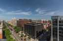 Panoramic city views from roof deck - 1150 K ST NW #309, WASHINGTON