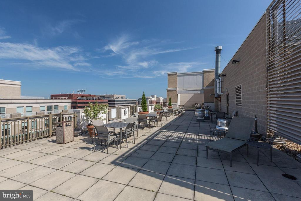 Plenty of room for grilling and relaxing. - 1150 K ST NW #309, WASHINGTON