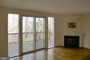 Living Room with Fireplace - 2047 CHADDS FORD DR, RESTON