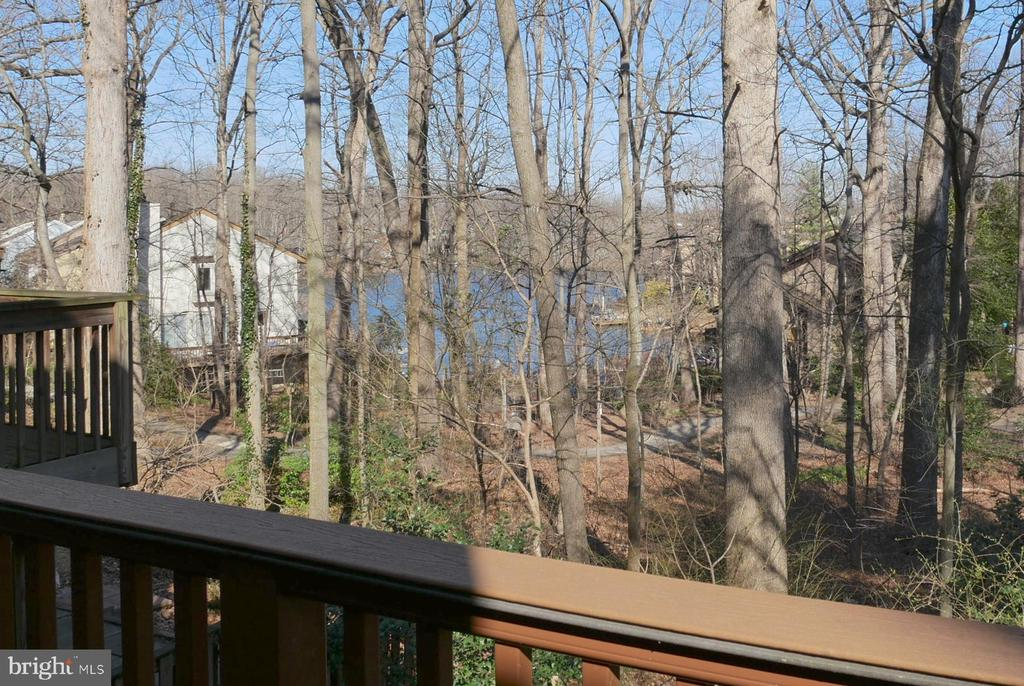Lake View from the Deck - 2047 CHADDS FORD DR, RESTON