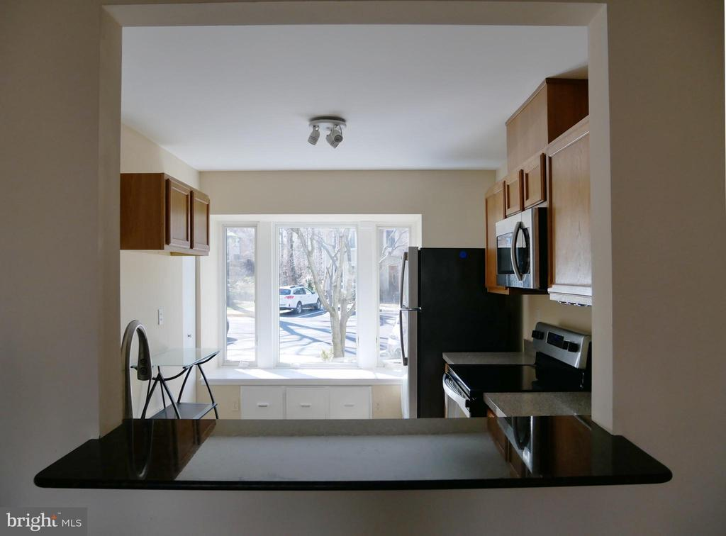 Granite Sill for the Kitchen Pass Thru Window - 2047 CHADDS FORD DR, RESTON