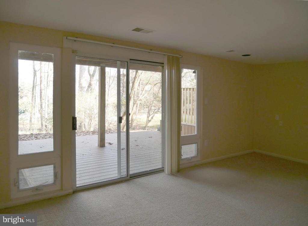 Walkout Basement to the Trex Patio - 2047 CHADDS FORD DR, RESTON