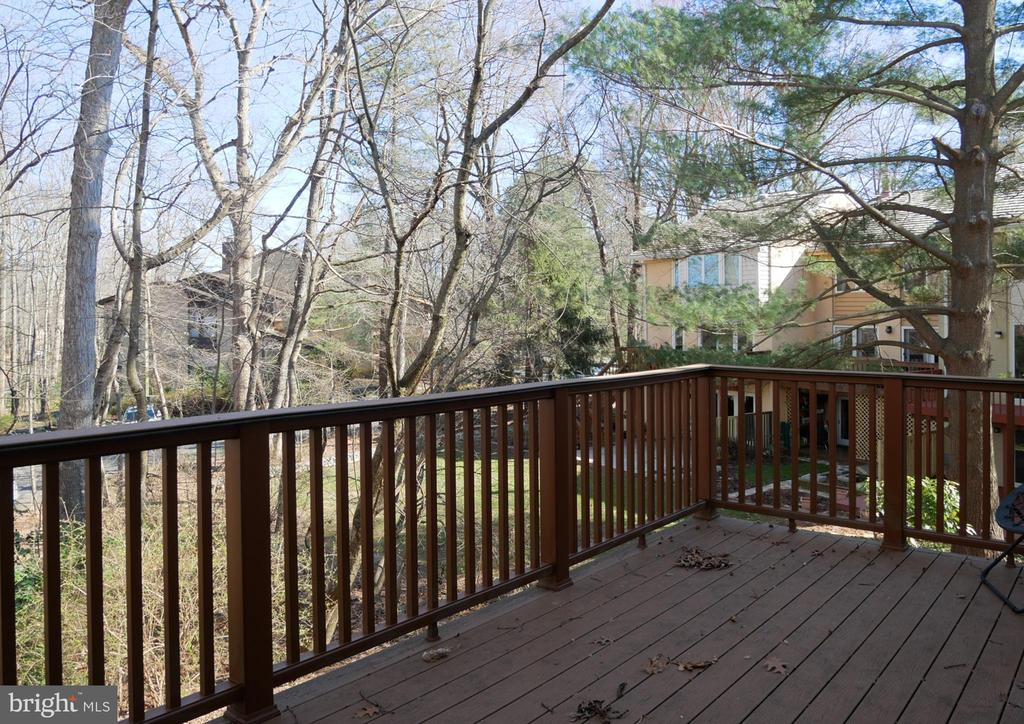 Trex Deck off Living Room - 2047 CHADDS FORD DR, RESTON