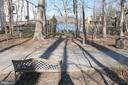 Road Side Bench & Walk to the Dock - 2047 CHADDS FORD DR, RESTON