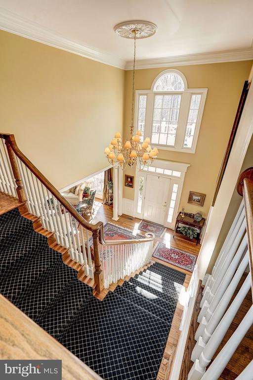 Beautiful Staircase - 3150 ARIANA DR, OAKTON