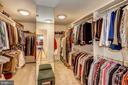 Large Master Closet - 3150 ARIANA DR, OAKTON
