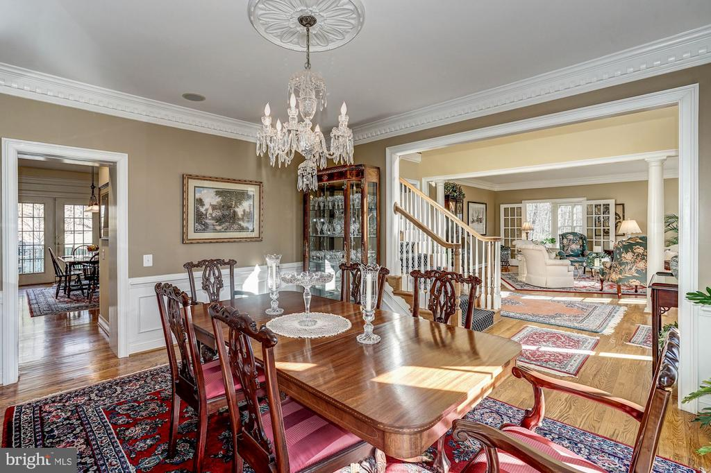 Dining Room to the left of foyer - 3150 ARIANA DR, OAKTON