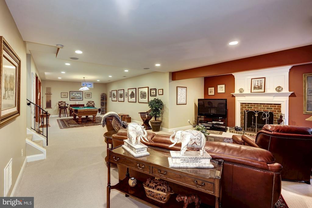 Spacious basement - 3150 ARIANA DR, OAKTON