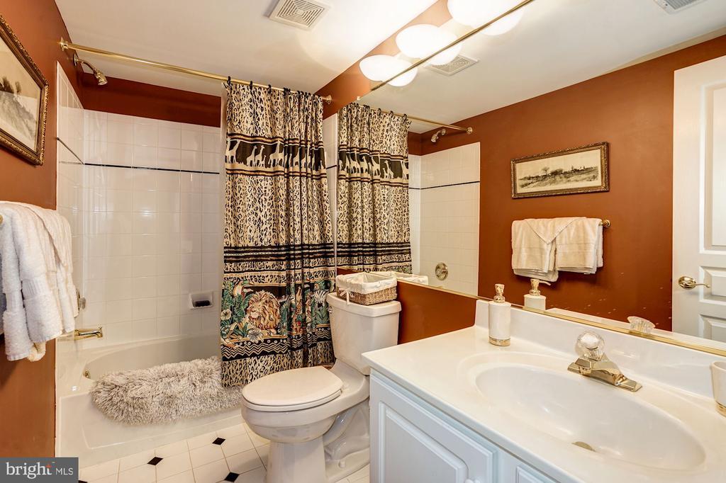 Full Bathroom on basement level - 3150 ARIANA DR, OAKTON