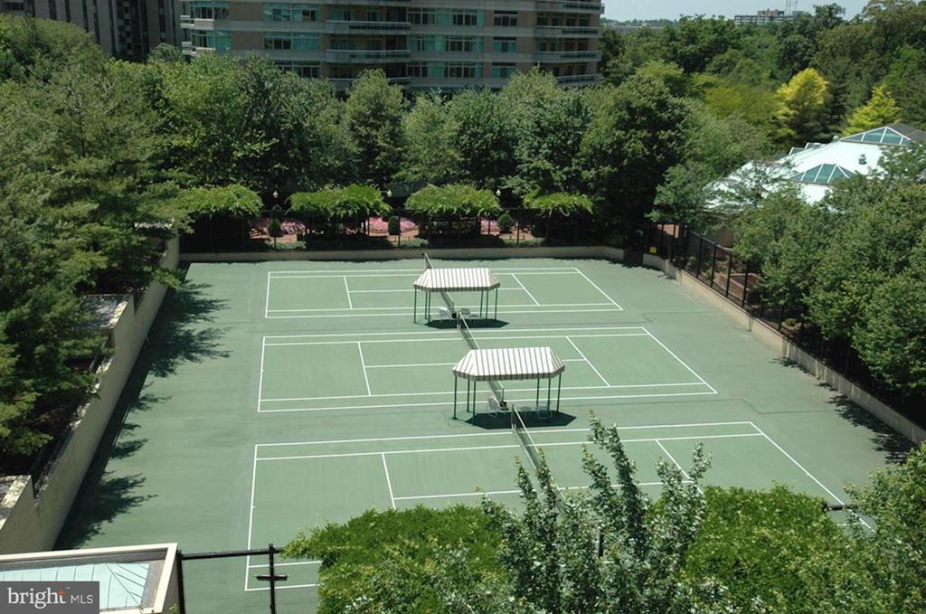 Tennis Courts - 5630 WISCONSIN AVE #202, CHEVY CHASE