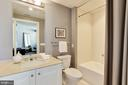 Ensuite Bath - 5630 WISCONSIN AVE #202, CHEVY CHASE