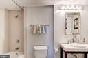 Second Bathroom - 777 7TH ST NW #1120, WASHINGTON