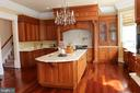 Gourmet kitchen - 529 SPRINGVALE RD, GREAT FALLS