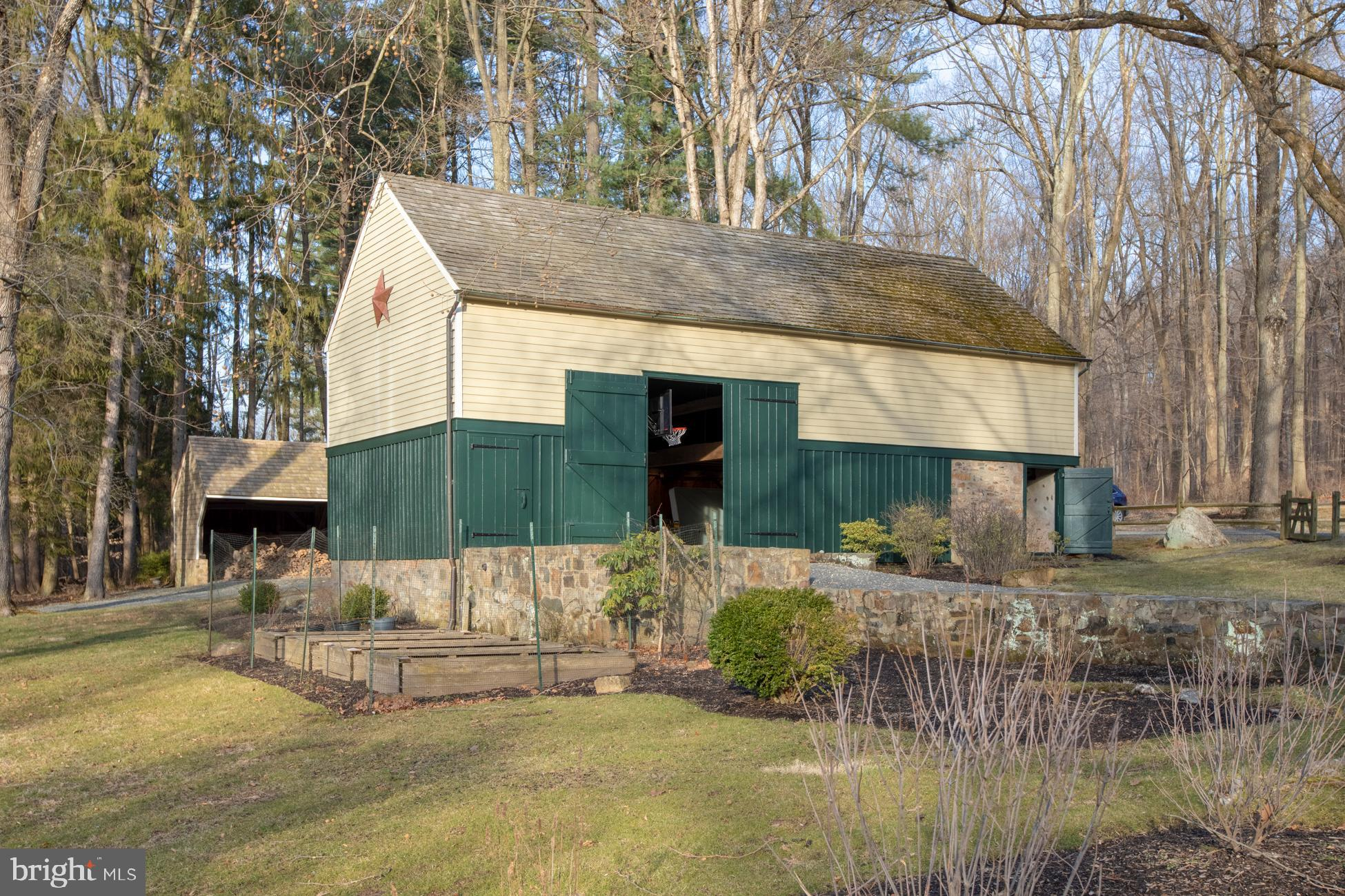 A  barn ready for parties or could stable horses.